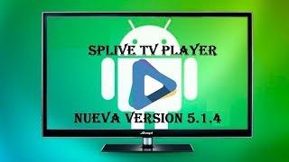 SPLIVE TV  NUEVA VERSIÓN 5.1.4  + LISTAS AUTO ACTUALIZABLES JUNIO 2019