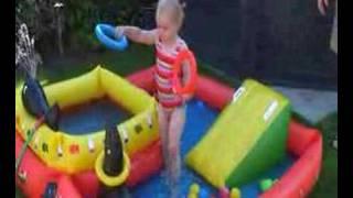 Nikki test zwembad