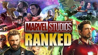 All 19 Marvel Cinematic Universe Movies Ranked from Worst to Best (Including Infinity War)