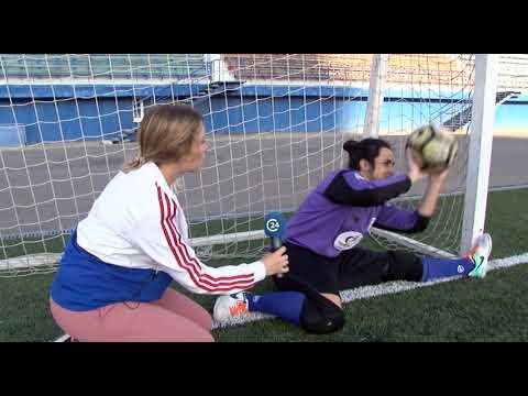 "Женская футбольная команда дала мастер-класс журналистам ""Саратов 24"""