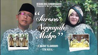 Download lagu [OFFICIAL] SARONO GAYUH MULYO - H. MA'RUF ISLAMUDDIN FT. TITIK NUR A.