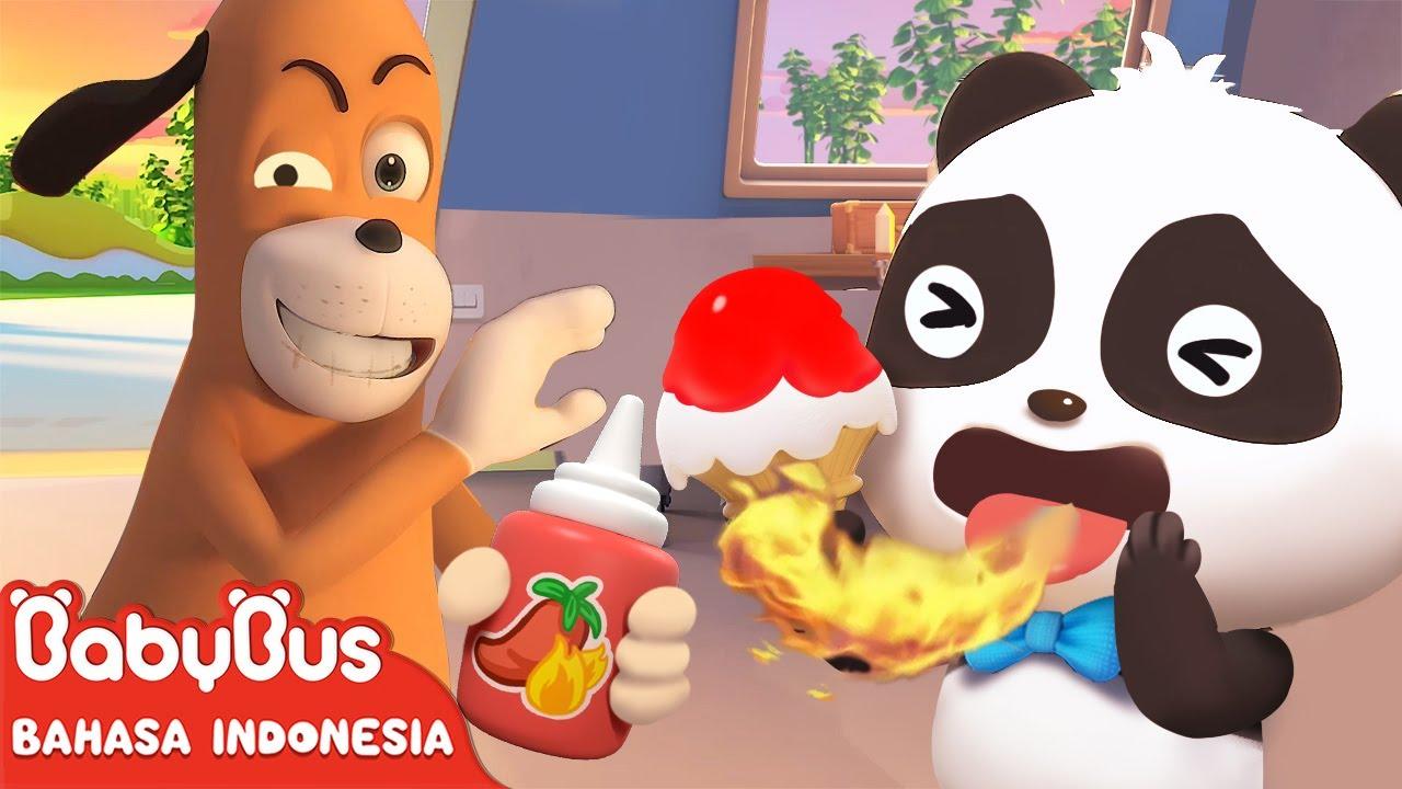 Apakah Kiki Memakan Es Krim Dengan Saus Sambal? | Kartun Anak | BabyBus Bahasa Indonesia