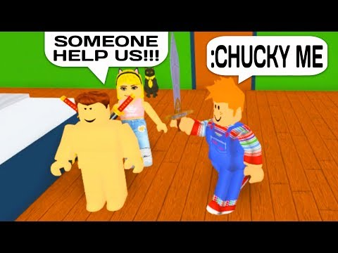 Cult Of Chucky Roblox Chucky Vs Admin Commands In Roblox Youtube