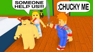 CHUCKY VS ADMIN COMMANDS IN ROBLOX!