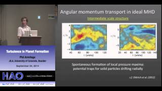 Phil Armitage | University of Colorado | Turbulence in Planet Formation