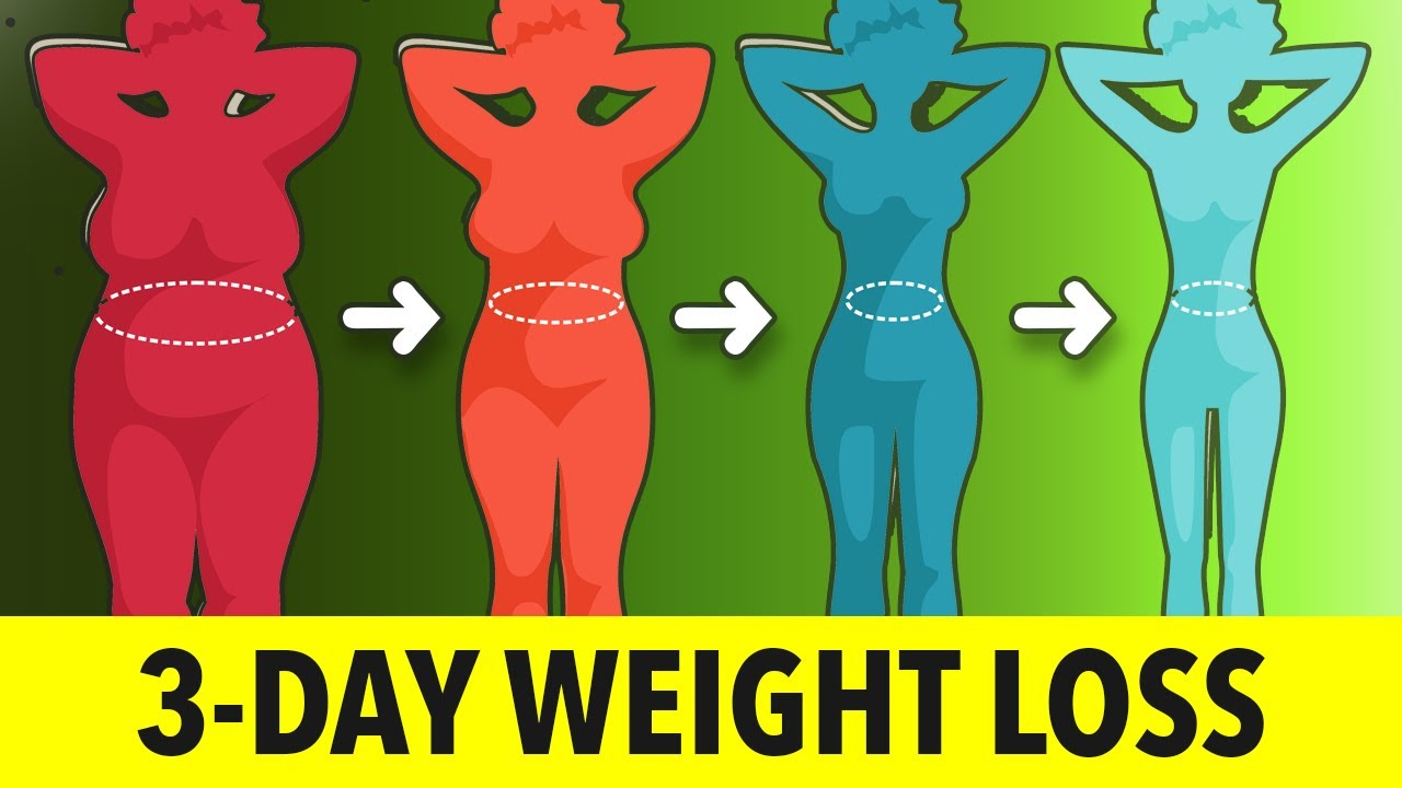 3-Day Weight Loss Challenge: Daily Exercise to Burn Fat