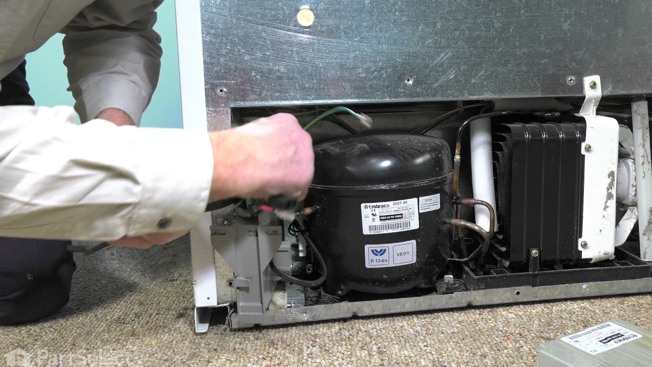 Whirlpool Refrigerator Repair - How to Replace the Inverter Board