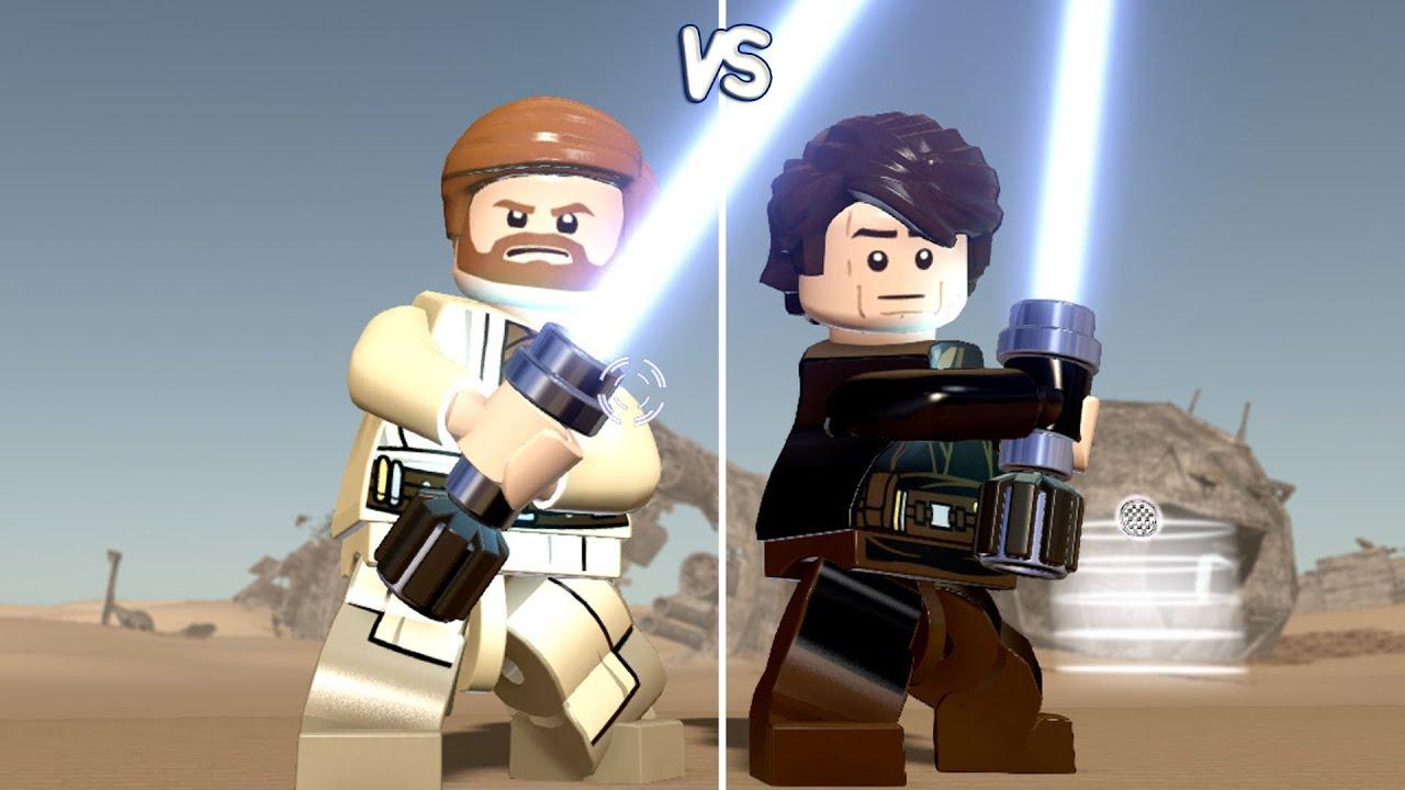 Lego star wars the force awakens obi wan vs anakin - Lego star wars vaisseau anakin ...