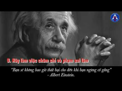 [BÀI HỌC CUỘC SỐNG] - 12 Bài Học Cuộc Sống Từ Albert Einstein