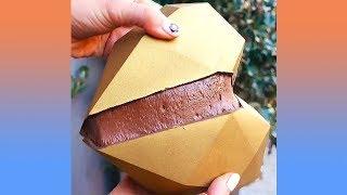 ขนมรูปหัวใจสอดไส้ช็อคโกแลตน่ากินมาก (รวมคลิปความพึงพอใจ)