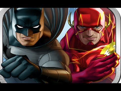Batman & The Flash: Hero Run - Отличный раннер на Android ( Review)