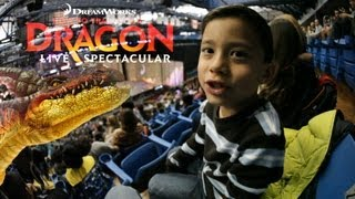 EvanTubeHD goes to HOW TO TRAIN YOUR DRAGON LIVE SPECTACULAR!  in 1080p High Definition HD!