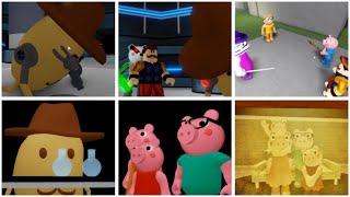 ROBLOX PIGGY ALL ENDINGS