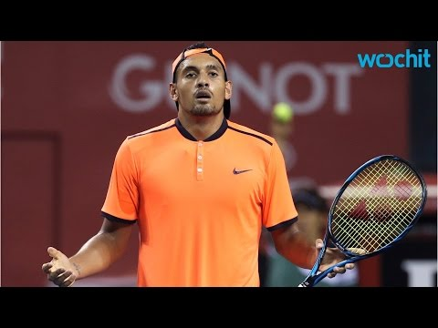 Tennis Bad Boy Nick Kyrgios Is Back In Trouble