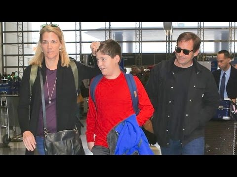 Steve Carell And His Family Head To Paris