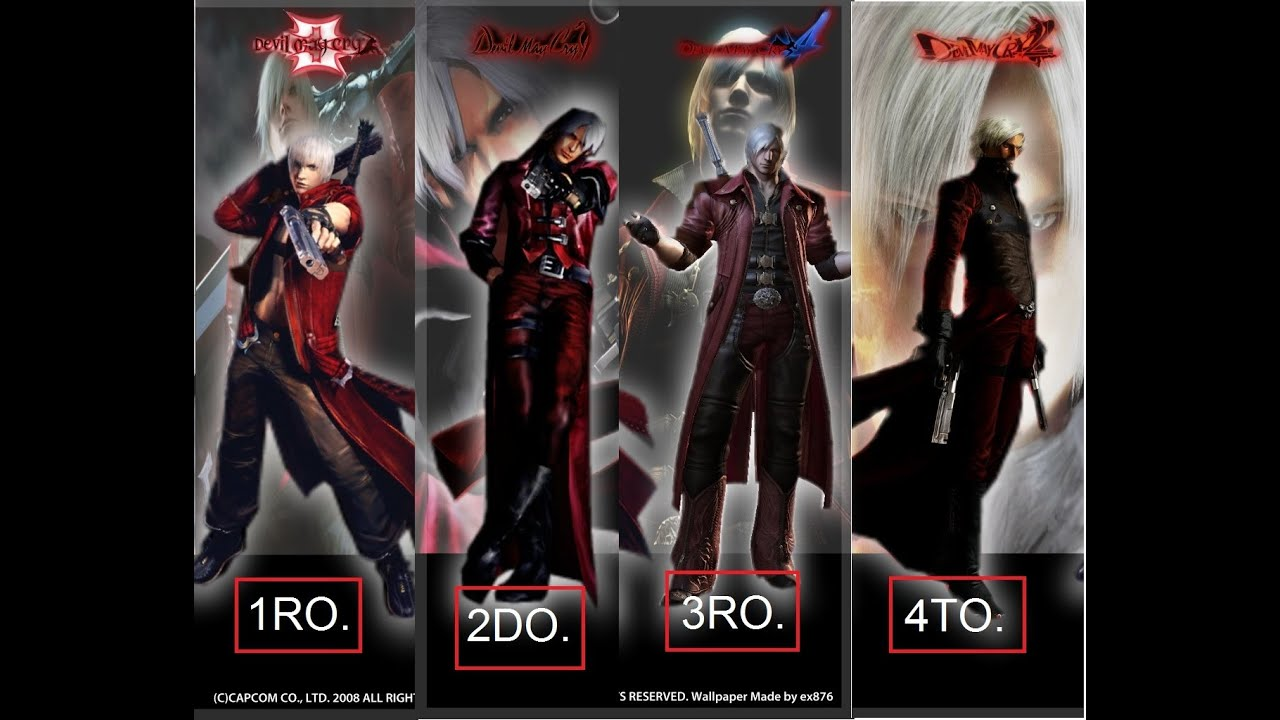 Devil May Cry Wallpaper Hd Devil May Cry Historia Y Cronologia Parte 1 Youtube