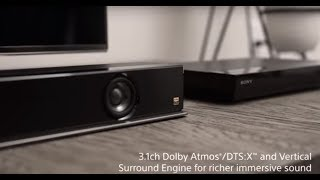 Developing Sony Z9F Soundbar with Dolby and Sony Pictures