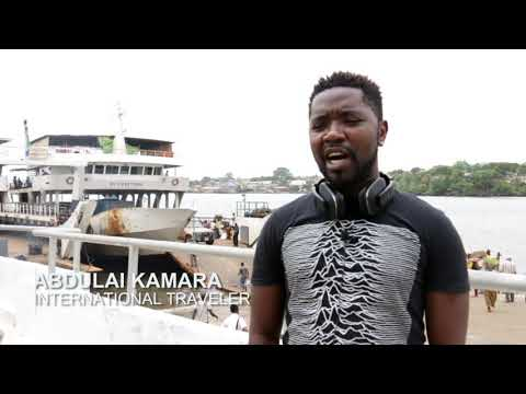 Sierra Leone: Improving ferry transport to Freetown.