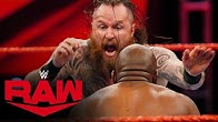Aleister Black vs Apollo Crews Raw April 6 2020