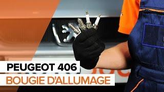 Comment changer Bougie moteur PEUGEOT 406 Break (8E/F) - video gratuit en ligne