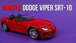 Розпакування Maisto (1:24) Dodge Viper SRT-10