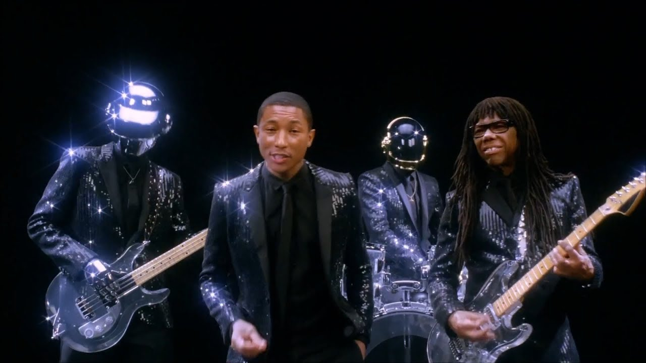 Daft Punk feat. Pharrell Williams - Get Lucky (Official Video) - YouTube