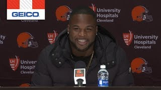 Carlos Hyde: This was an opportunity to come back home