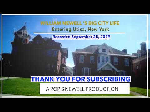 Entering Utica, NY From New Hartford, NY September 25, 2019
