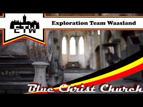 Blue Christ Church - Verlaten kerk.