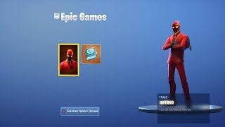 "NOUVELLE PEAU ""COSTUME INFERNO"" ET ""INFERNO CHALLENGES""! Fortnite Fortnite"