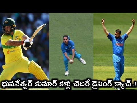 India vs Australia Live Score, 3rd ODI: Bhuvneshwar stunning catch sends back ...