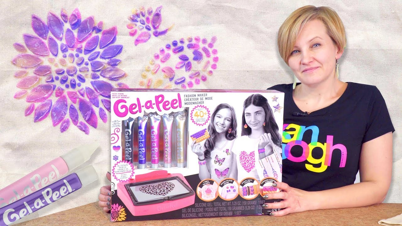 Gel-a-Peel Fashion Maker, Zestaw do aplikacji na tkaninach, MGA