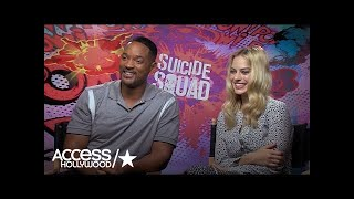 Will Smith & Margot Robbie On Physically & Mentally Preparing For 'Suicide Squad'