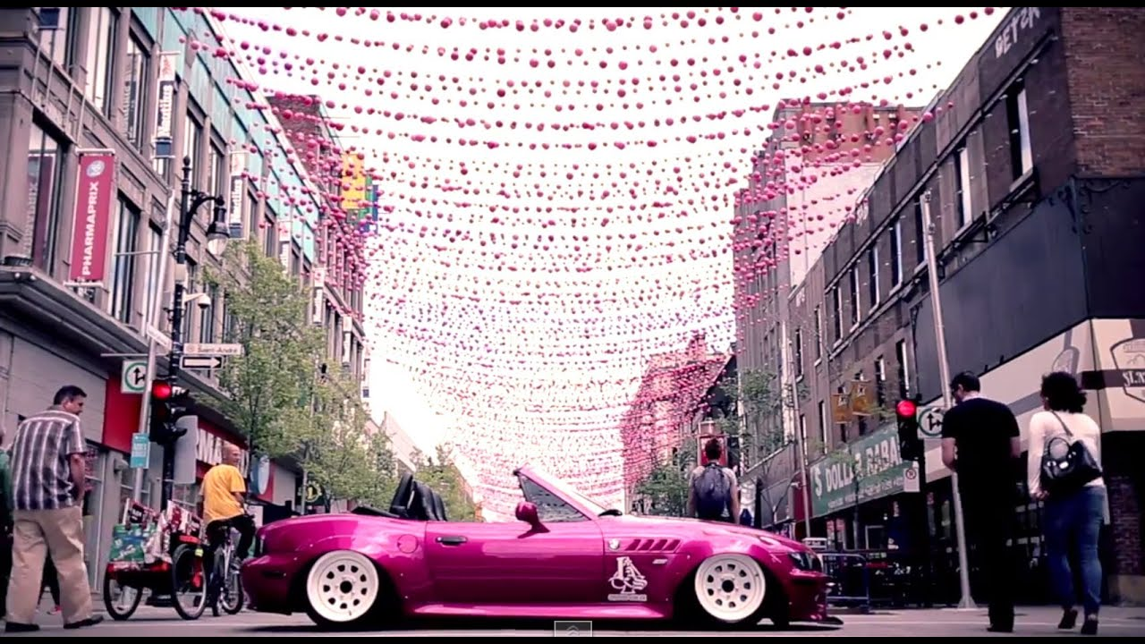 Pink Bmw Z3 Ll Ladies On Wheels Youtube