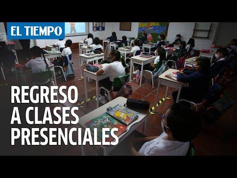Estos son los colegios de Bogotá que regresan a las clases presenciales