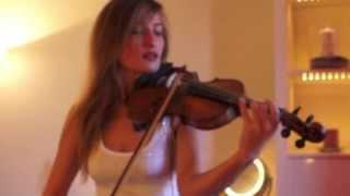 Miley Cyrus - Wrecking Ball (Violin Cover by AngieViolin)