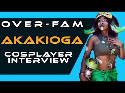 Overwatch Cosplay: Akakioga OVERFAM Interview - Orisa & Symmetra