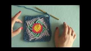 How to: Make the Wonky Squares Motif (crochet)