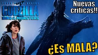 Malas críticas a Godzilla King of the Monsters