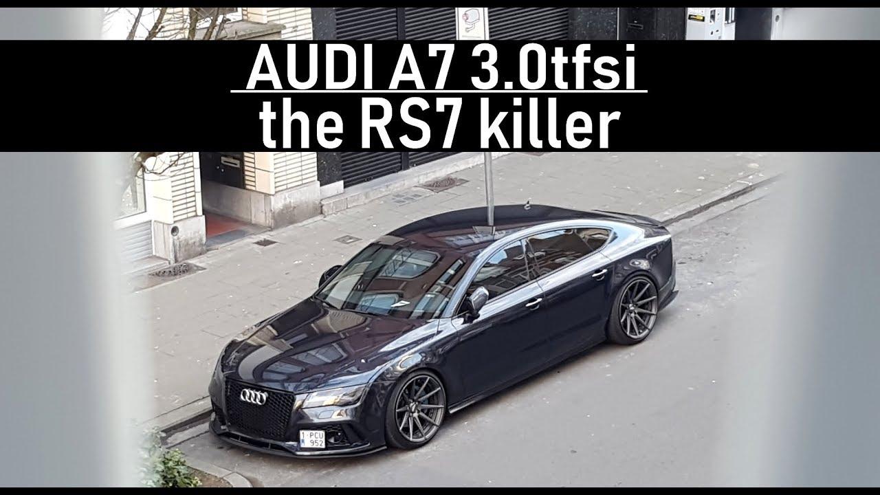 TÜRKİYE'DE TEK ! Audi A7 2011 & 2016 RS7 Facelift Görünüm!   Tuning Garage