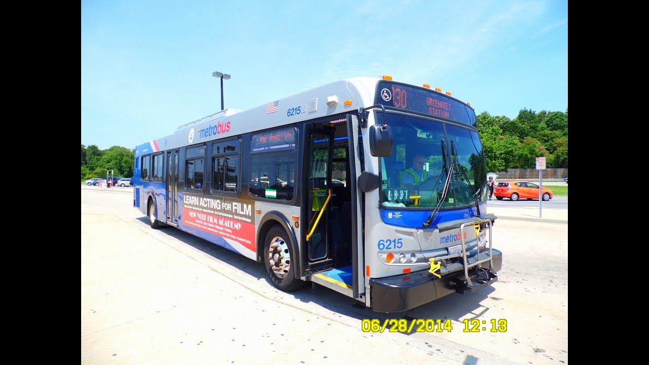 WMATA Metrobus: 2006 New Flyer D40LFR (Diesel) #6215 ~ w/ Cummins ISM