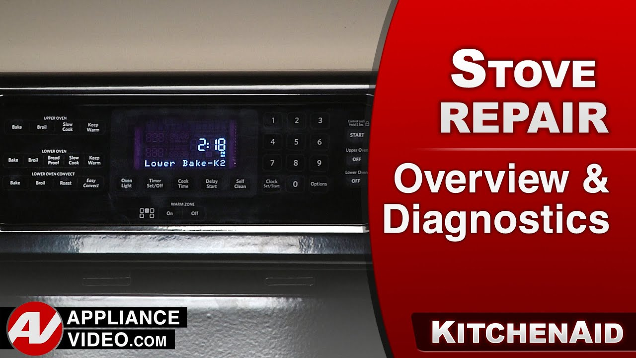 KitchenAid, Whirlpool Oven - Overview & Diagnostics
