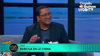 Boricua en la China