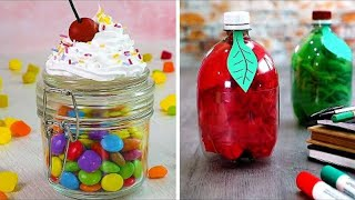 13 Easy Crafts You Can Make With Jars, Cups and Bottles