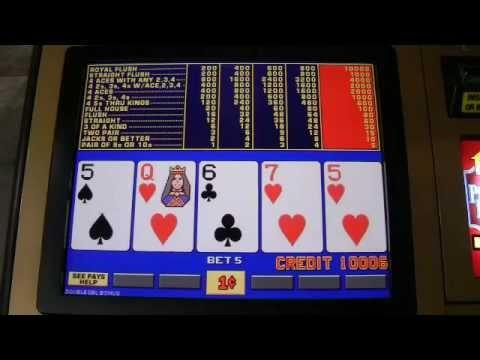 Poker slot maskine vindere