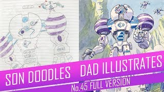 DRAWING with my kids - CLOUD GUARDIAN [FULL VERSION] No.45