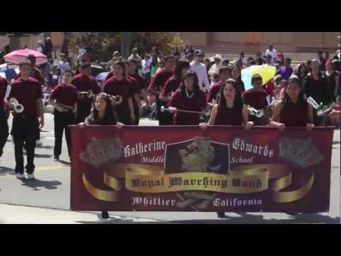 Katherine Edwards Middle School - Swallows' Day Parade 2013 - San Juan Capistrano
