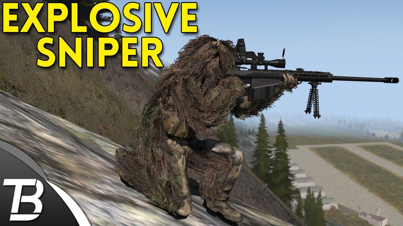 ARMA 3 Exile Mod - Part 3 - Explosive Sniper