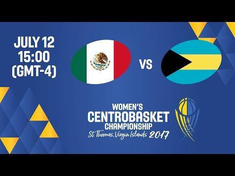 Mexico vs Bahamas - Full Game - Women