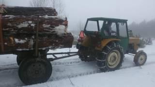 Repeat youtube video Ursus C- 360 wyciąganie dłużycy z drzewem